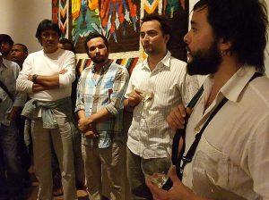 Lançamento do Manifesto pelo Cinema em Bagé. Foto de Franciele Teixeira